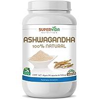 Ashwagandha en polvo 90 Capsulas SuperVida Nutrition