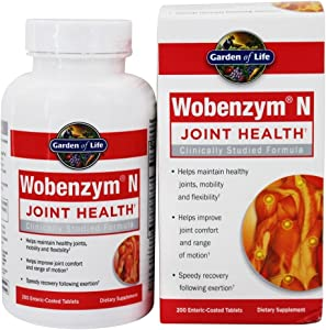 Garden of Life Wobenzym N, 200 Tablets