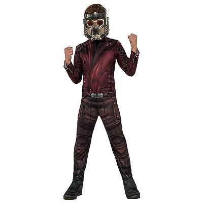 Rubie's Marvel Avengers: Endgame Child's Star-Lord Costume & Mask, Large: Toys & Games