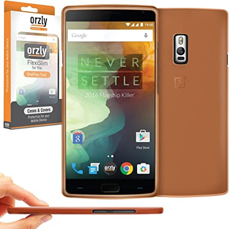 Orzly® - FlexiSlim Case para OnePlus 2 Smartphone/Teléfono Móvil ...