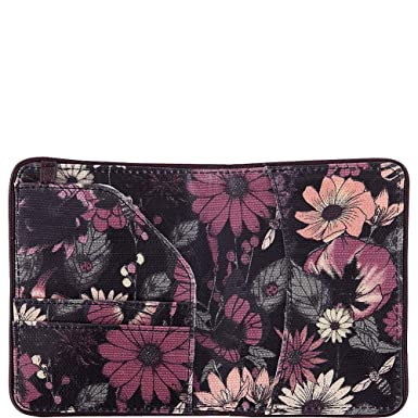378dd0a84 Amazon.com | Sakroots Women's New Adventure Luggage Tag Passport Travel  Purse Graphite In Bloom One Size | Passport Covers