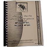 New Massey Ferguson MF 204 Tractor Parts Manual