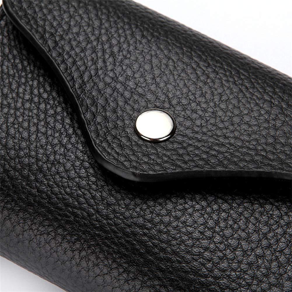 Gray Lostbreaker Organ Type/Minimal/Thin Genuine Leather Mens/&Women RFID Blocking Wallet with Money Clip Insert 14 Credit Cards Holder Travel Organiser RFID Wallet Case
