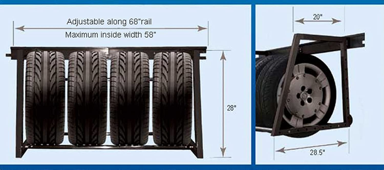 sc 1 st  Amazon.com & Amazon.com: HyLoft 01000 Multi-Tire Rack Storage: Home Improvement