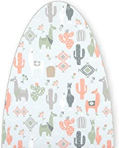 Premium Ironing Board Replacement Cover Fits Rowenta Model IB6300 Llama Lovers Print