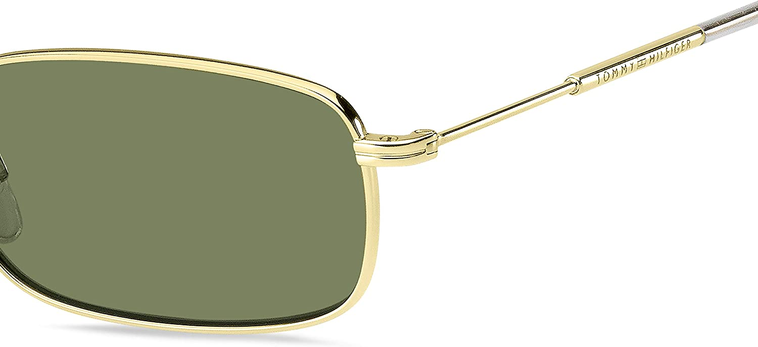 Tommy Hilfiger Mens Th1646s Rectangular Sunglasses 55 mm Gold