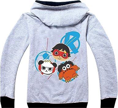 Boys /& Girls Sweatshirts Ryans Hoodie World YouTube Toy Review Cotton Costumes