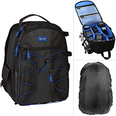 Acuvar Professional DSLR Camera Backpack with Rain Cover
