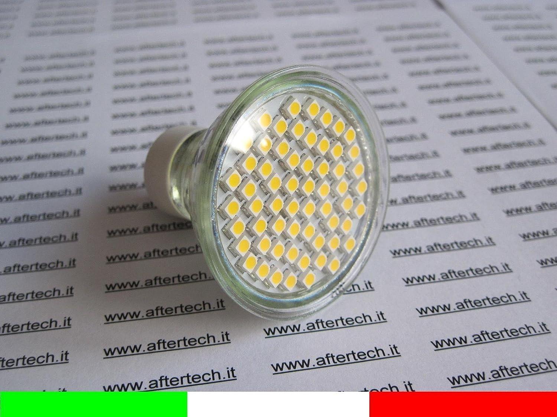 Aftertech® aftertech aftertech 10 x 60 LED Strahler Leuchtmittel 120 ° GU10 warmweiß 3,5 W 220 V Leuchtmittel Lichter