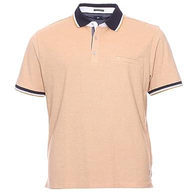 Pierre Cardin Polo para hombre (tamaño grande), color beige beige ...