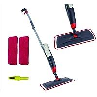 Venetio Premium Spray Mop 2 Reusable Microfiber Pad 360 Degree Rotation Joint for Home Kitchen Hardwood Laminate Wood…