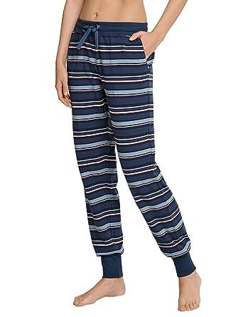 4fd5aa7a22 Schiesser Damen Mix & Relax Jerseyhose Lang Schlafanzughose: Amazon.de:  Bekleidung