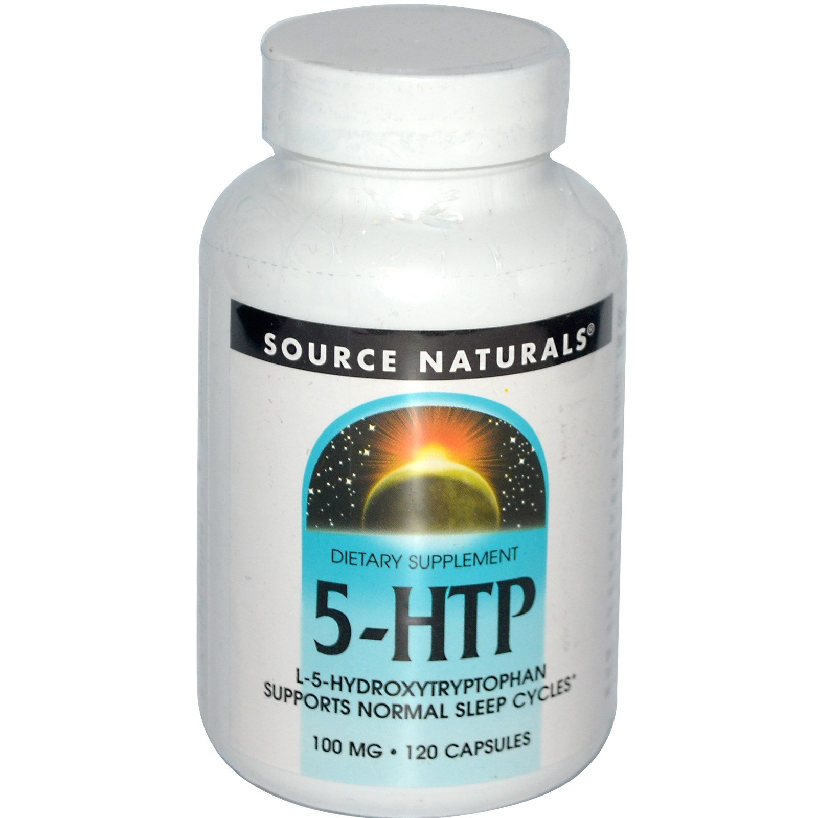 Source Naturals, 5-HTP, 100 mg, 120 Capsules - 3PC