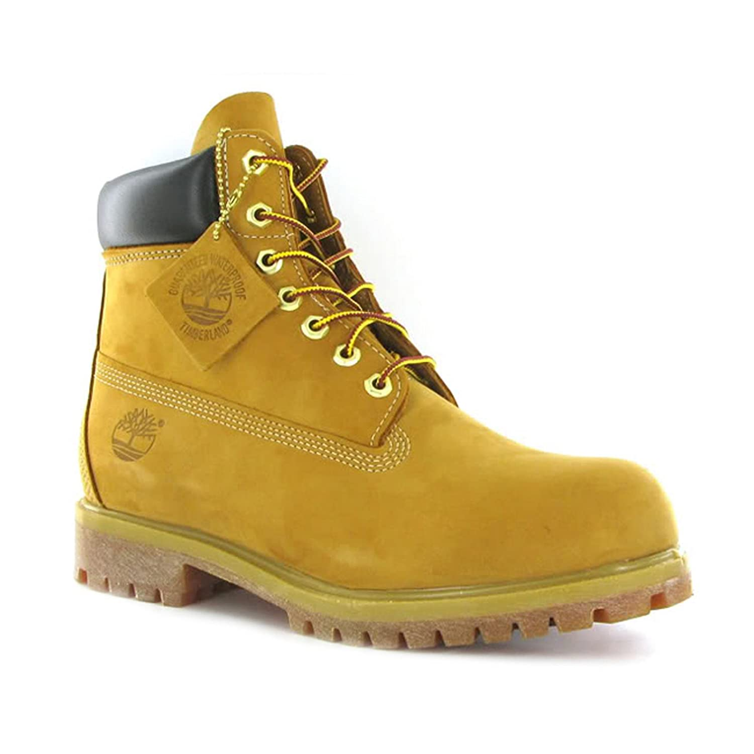 66763aa168c2 Timberland AF 6-Inch Premium Waterproof Wheat Men Boots Size 9 UK   Amazon.co.uk  Shoes   Bags