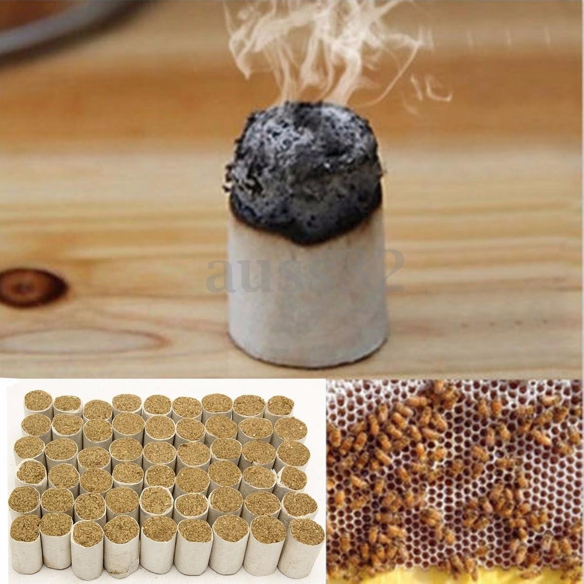 54Pcs Beekeeping Tools Bee Hive Smoker Fuel Chinese Herb Smoke Honey Made