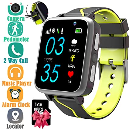 Amazon.com: Kids Smart Watch with Music Player - Childrens ...