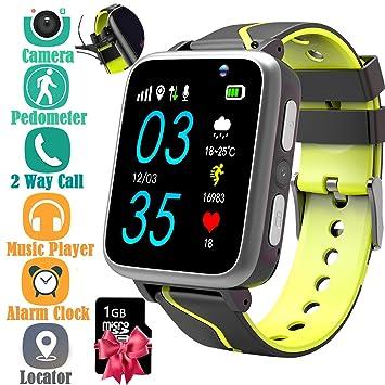 Jesam - Reloj inteligente para niños con reproductor de música ...