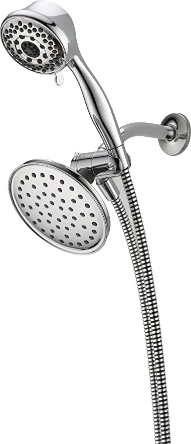 Peerless 76611D Hand Shower/ Shower Head Combo Pack, Chrome ...