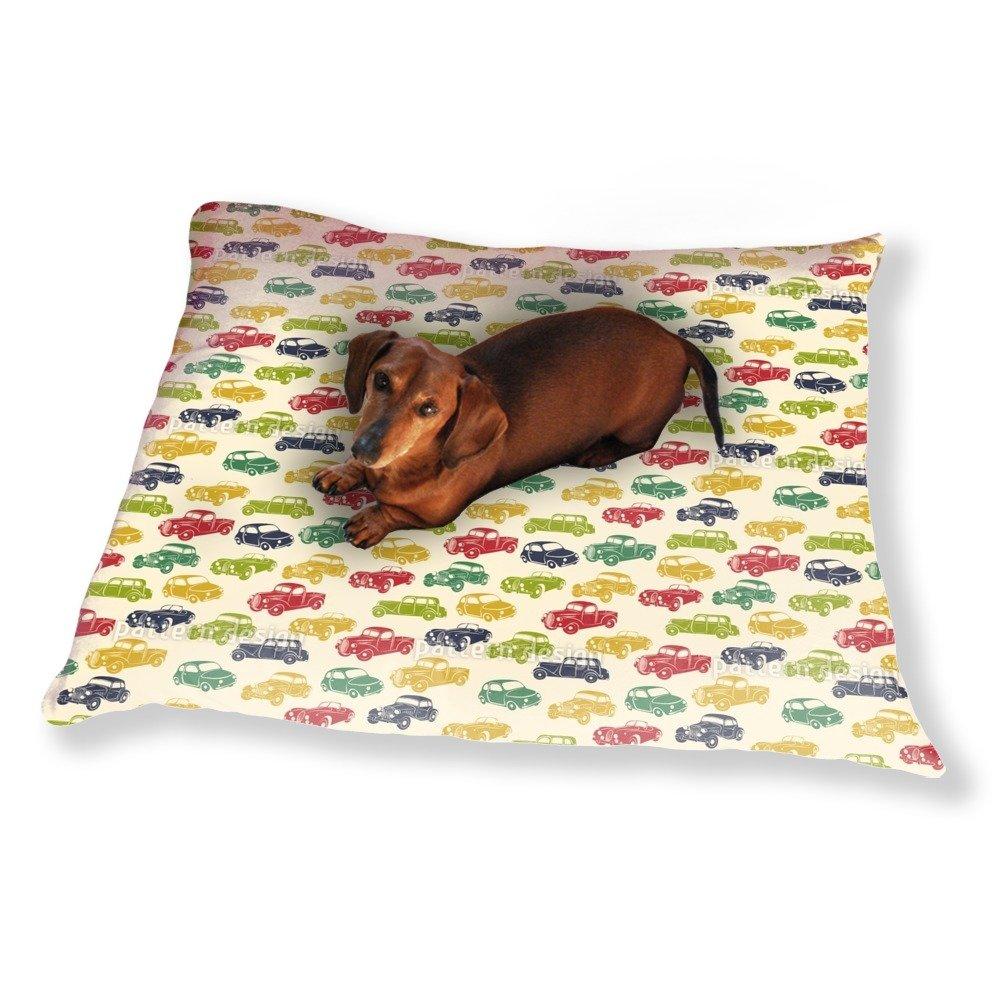 Retro Ride Dog Pillow Luxury Dog / Cat Pet Bed
