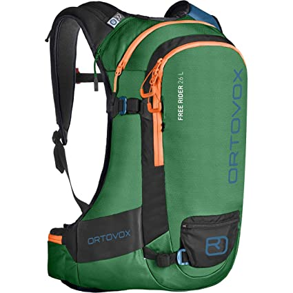 Ortovox Free Rider 26 L, Mochila Unisex Adulto, Verde (Irish Green),