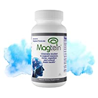 Magtein Magnesium L- Threonate - Bioavailable and 100% Water Soluble Magnesium -...