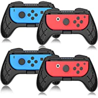Grip for Nintendo Switch Controller - 4 Pack Racing Steering Wheel Switch Controller Game Grip Handle Kit Fit for…