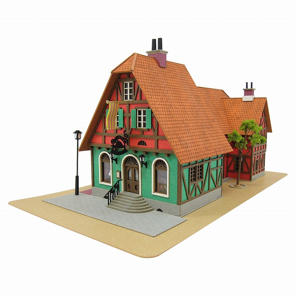 [Miniatuart] Limited Edition `Howl`s Moving Castle` Hat Shop (Unassembled Kit) Sankei MK07-03