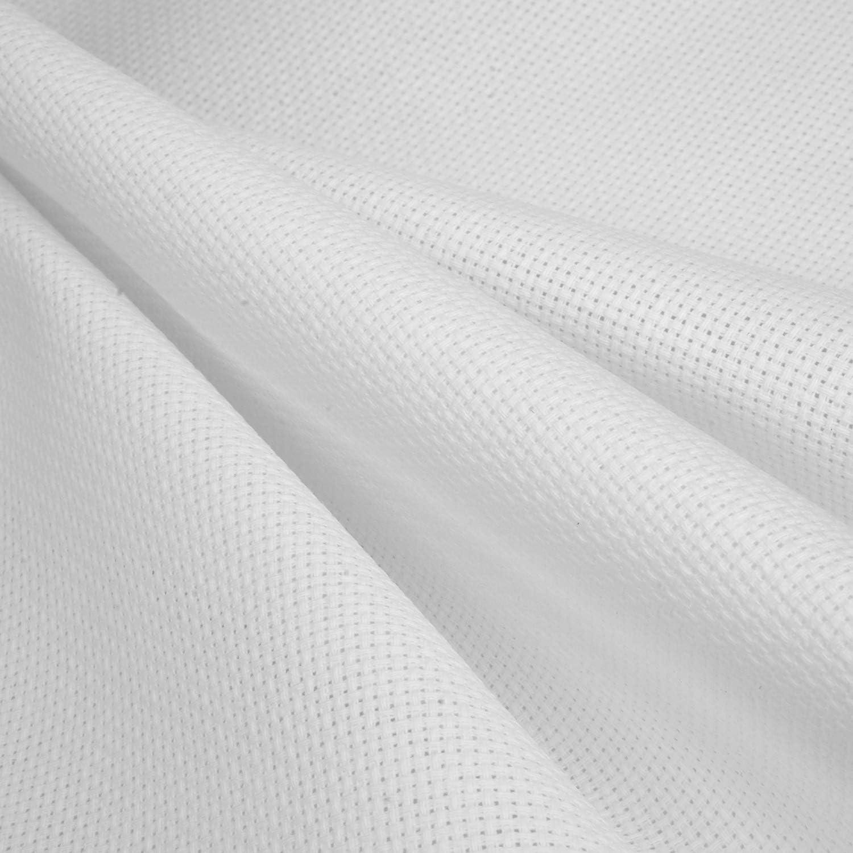 Aida Cloth 14 Count Cross Stitch Fabric,12/×18inch,5Pieces,White
