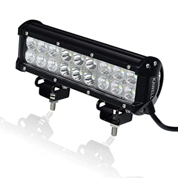 Kawell 54w 9 led light bar for atvjeepboatsuvtruckcaratvs kawell 54w 9quot led light bar for atvjeepboatsuv mozeypictures Gallery