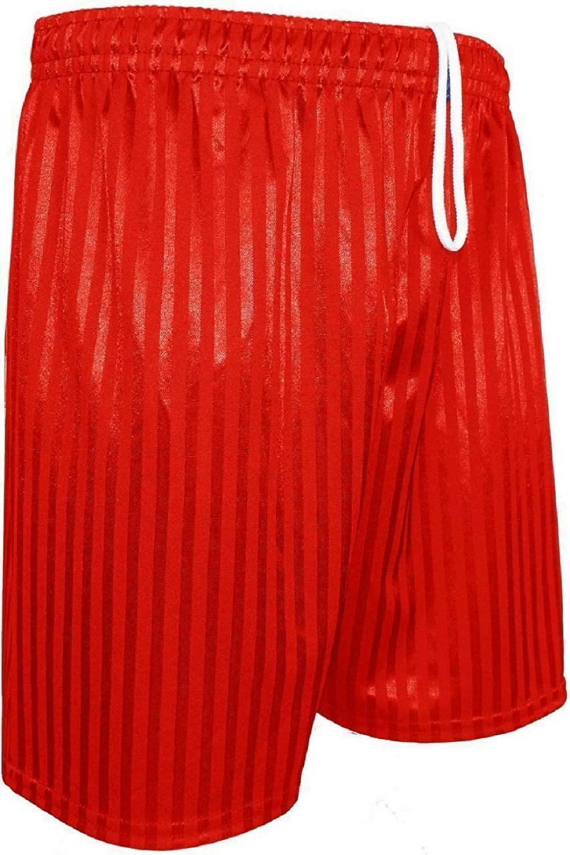 BIWTUP PE Shorts Boys Girls Childrens Shadow Stripe School Sports Football Ages 2-13