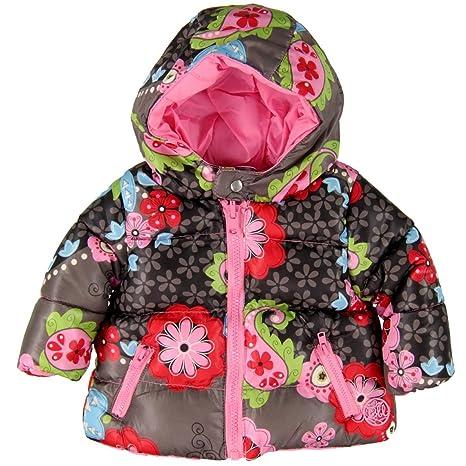 Bóboli - Abrigo para niña multicolor de 50% poliéster 50% Polyamid, talla: