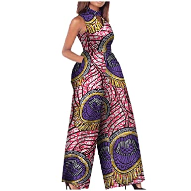 f2a343e5f11 Image Unavailable. Image not available for. Color  Highisa Women Summer  African Style Dashiki Plus Size ...