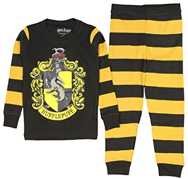 ecc5703a337ce Amazon.com  Harry Potter Pajamas Toddlers Kids Boys and Girls House Crest  Striped- Gryffindor
