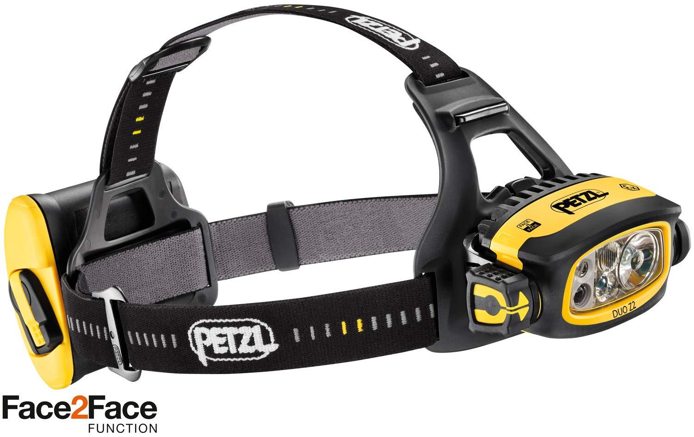 PETZL Duo Z2 430 Lumens Headlamp Black/Yellow