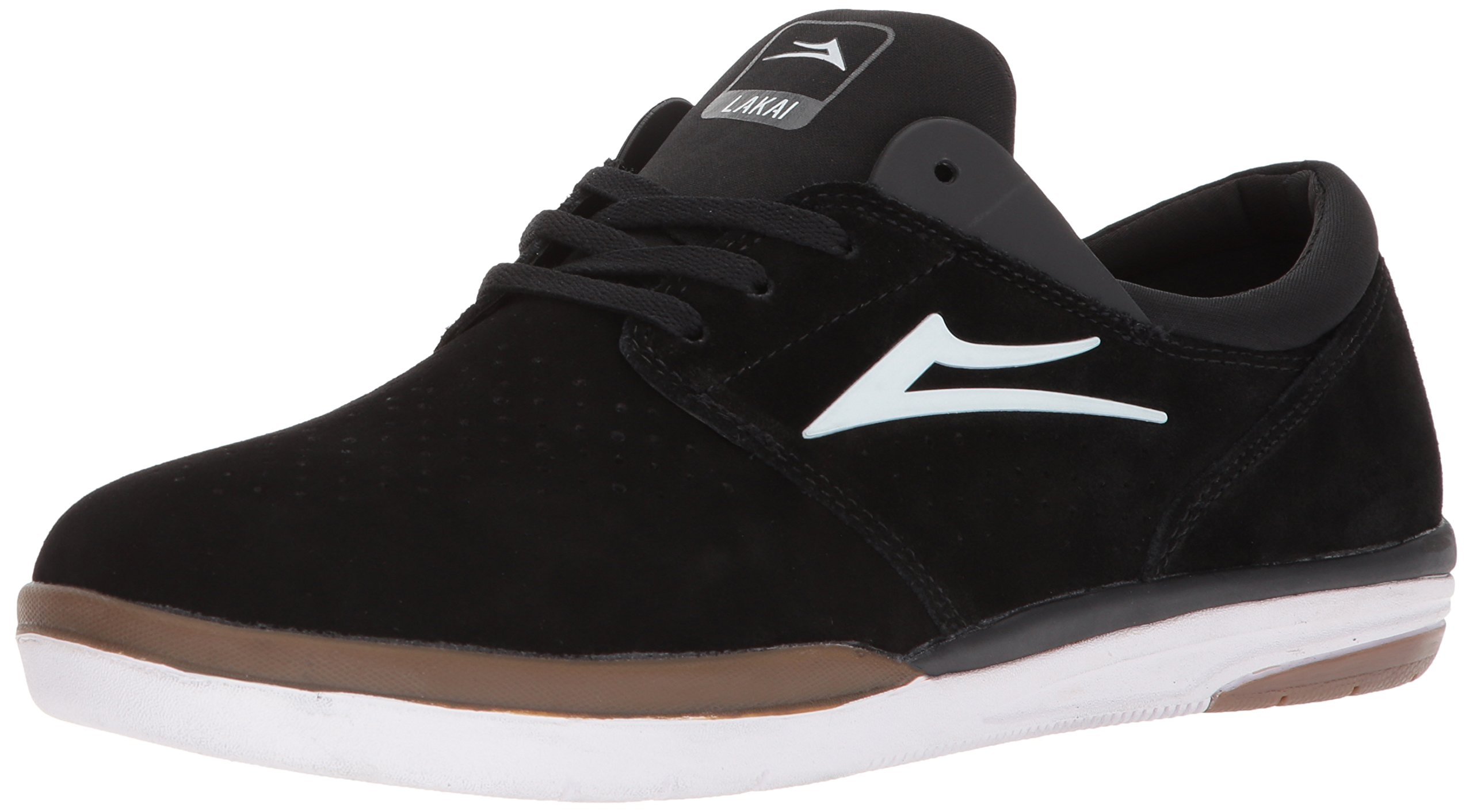 Lakai Fremont, Black/Grey Suede, 10 Medium US