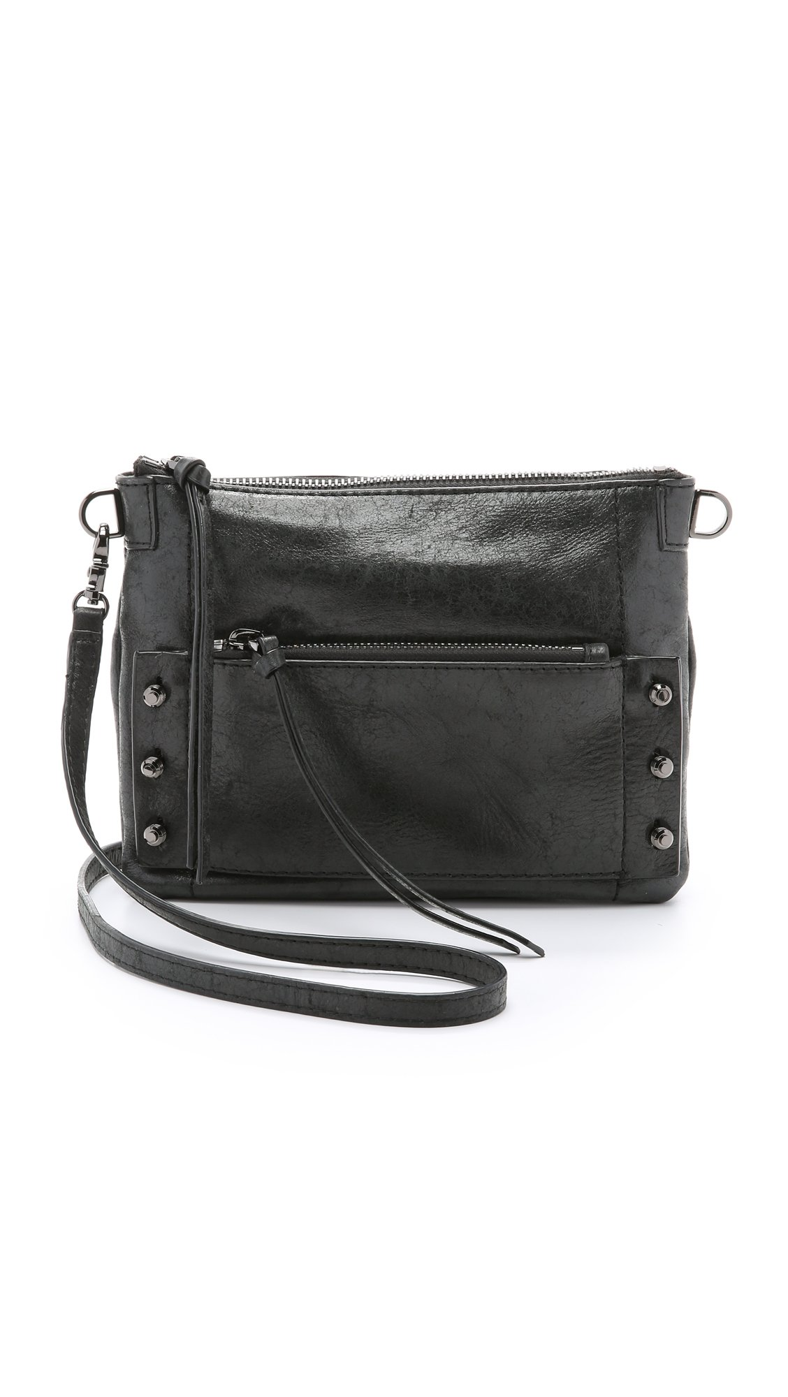 Botkier Women's Warren Cross Body Bag, Black, One Size
