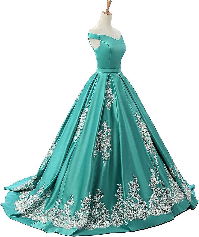 Fankeshi Robe De Soirée Pour Femme Vert