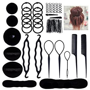 Limeo Frisurenhilfe Hair Twister Haare Frisuren Hair Styling Zubehör