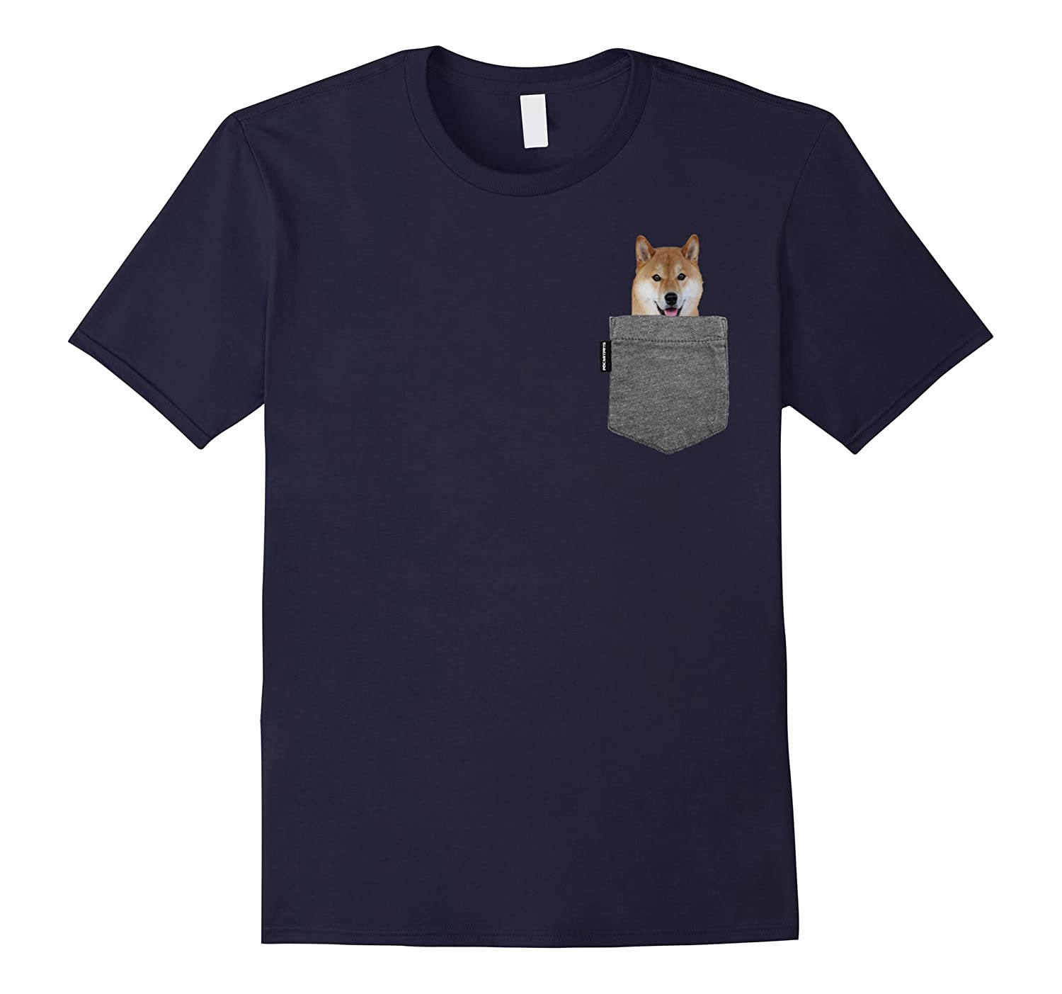 Außergewöhnlich Dog in Your Pocket Tshirt Shiba Inu Shirt Doge Tee-RT – Rateeshirt #WB_72