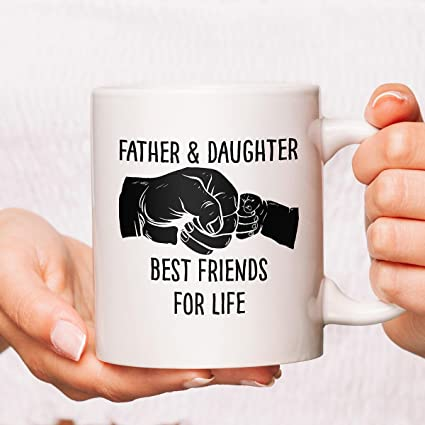 d2939e9d96 Image Unavailable. Image not available for. Color: Father And Daughter Best  Friends For Life ...