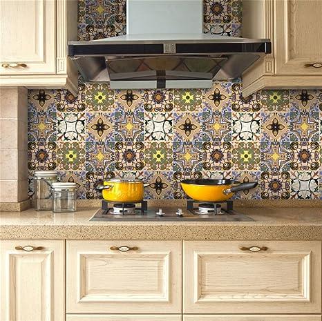 PLYY Adesivi per olio da cucina Stufe da cucina ad alta temperatura ...