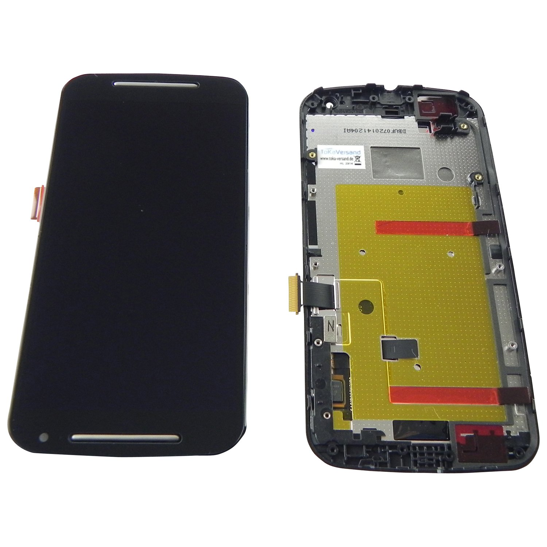 Motorola Moto G2 XT1068 Display LCD Touchscreen Glas: Amazon.de ...