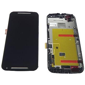 Motorola Moto G2 XT1068 pantalla táctil LCD, marco Carcasa ...