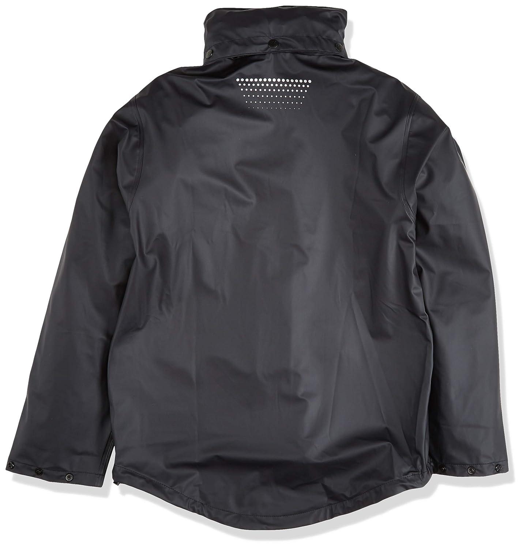 marineblau Helly Hansen Workwear Regenjacke wasserdicht Voss Jacket 70227