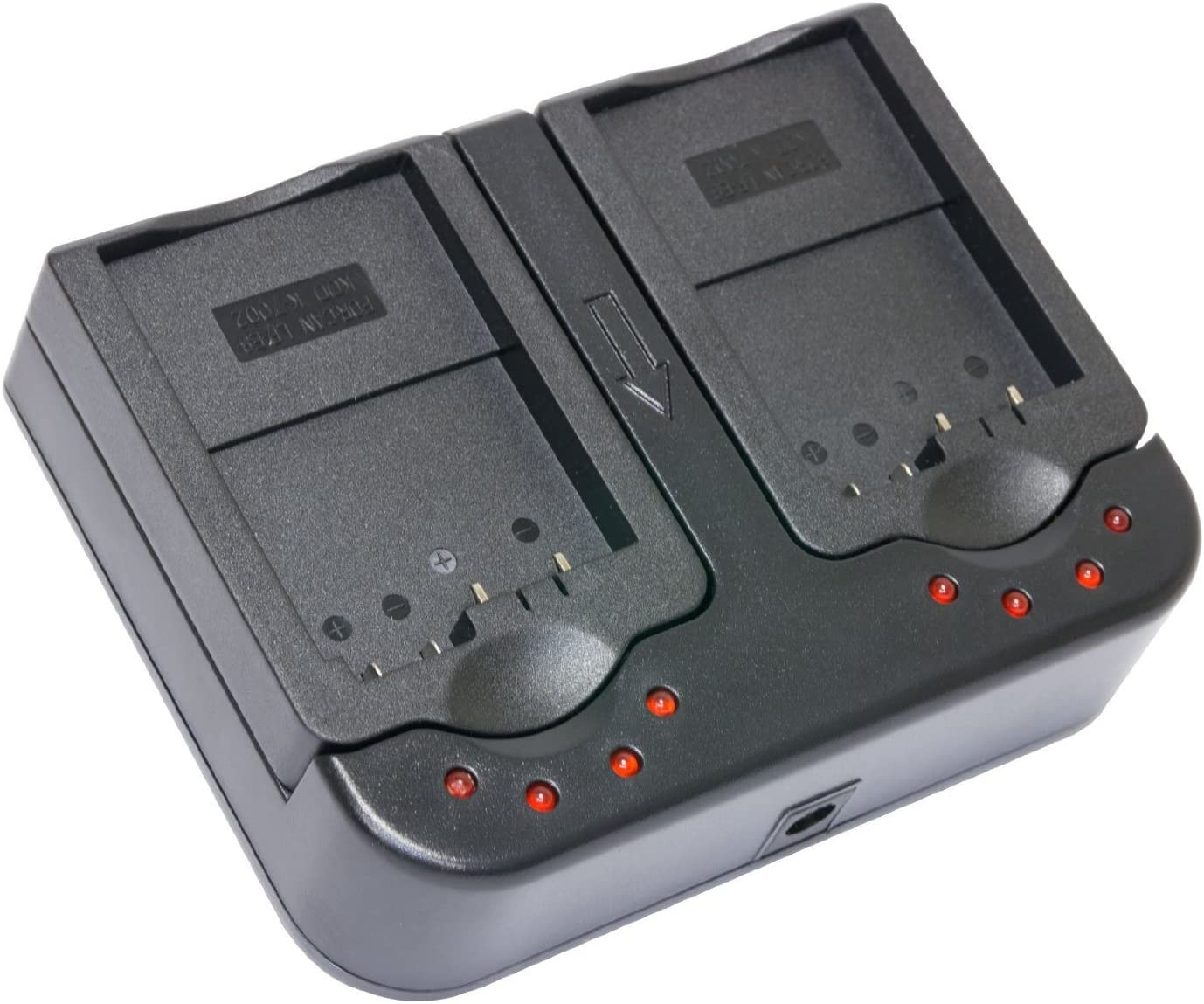 Opteka DBC-FV AC//DC Dual Battery Rapid Charger for Sony NP-FP50//FP70//FP90 NP-FH50//FH70//FH100 NP-FV50//FV70//FV100 Lithium Ion Batteries