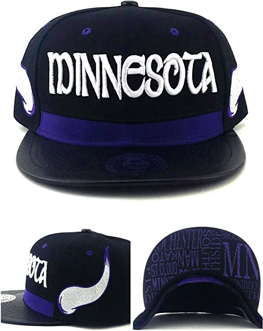 King s Choice - Gorra de Minnesota con diseño de Vikingos, Color ...