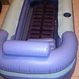 Vaugan Booster Seat Jacuzzi Spa Coj/ín Hinchable Almohadilla para Ni/ños Adultos