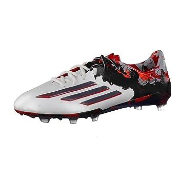 innovative design b455e 45d2b adidas Performance Homme Chaussures de Football, Homme, Blanc Noir Rouge