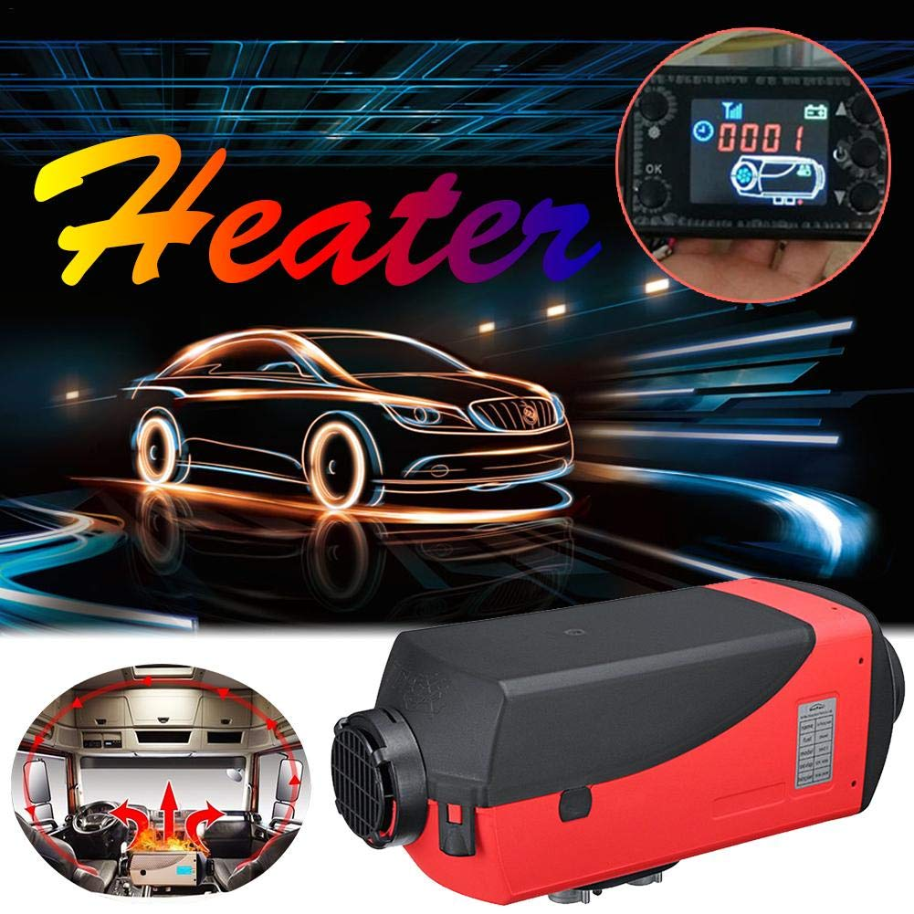 12V//24V Air Diesel Fuel Heater Electric Vehicle Oil Furnace Oil Heater Firewood for RV Boats Motorhome Trailer Trucks Gorgebuy Car Air Heater
