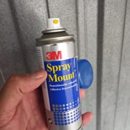 3M Spray Mount - Adhesivo Reposicionable, 200 ml: Amazon.es: Oficina y papelería